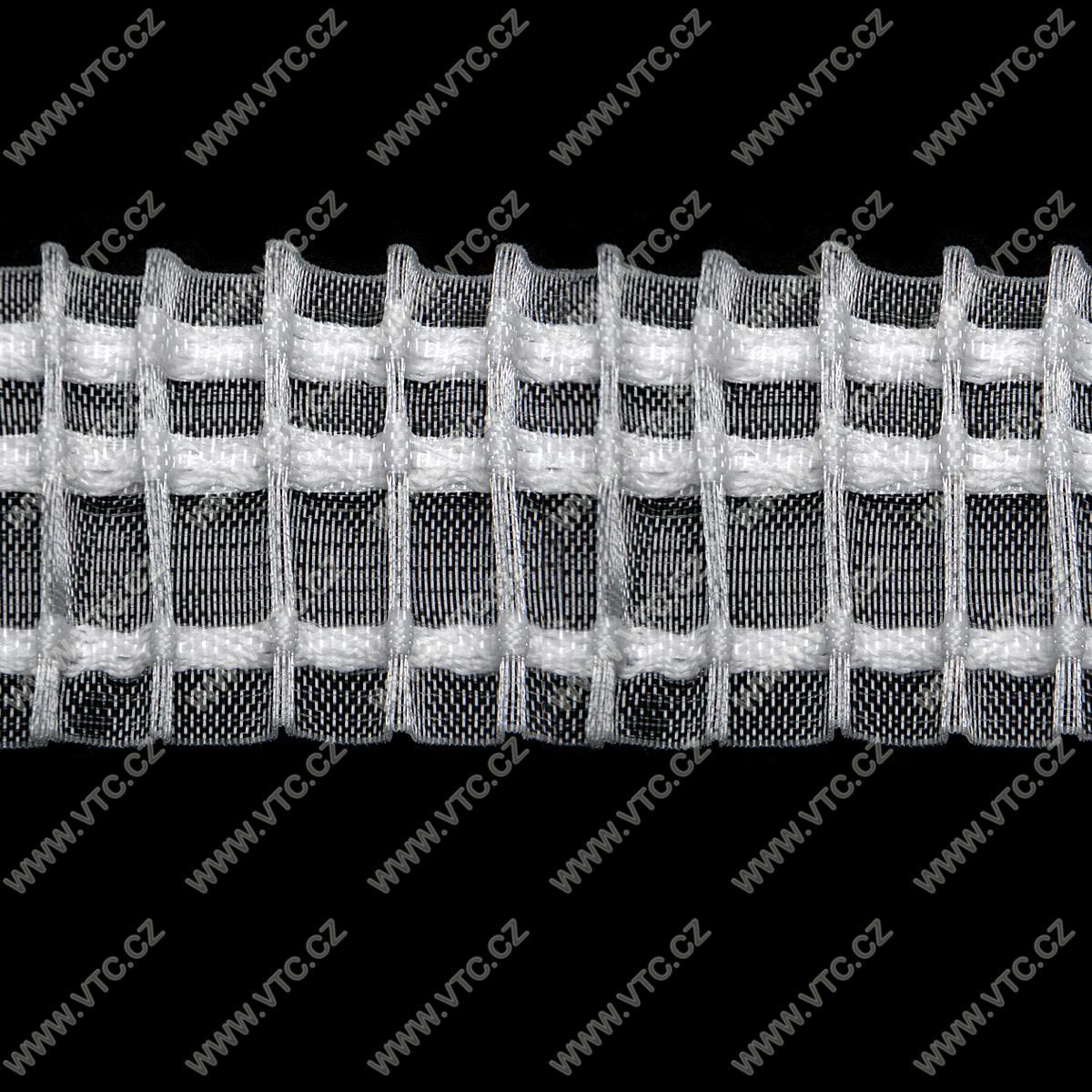 gardinenband bleistiftfalten klar 50 mm vtc ag. Black Bedroom Furniture Sets. Home Design Ideas
