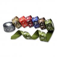 Satin ribbon 40 mm reindeer