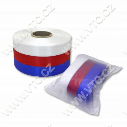 Wreath ribbon 70 mm Tricolor