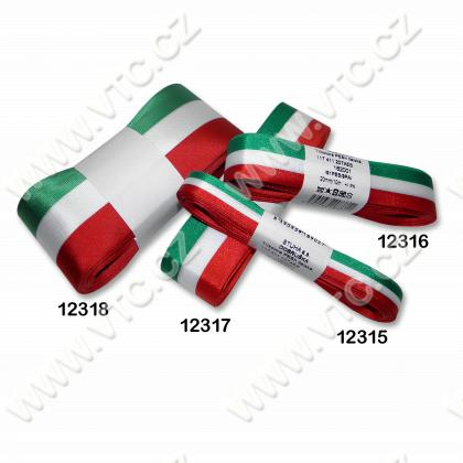 Tricolour ribbon 50 mm Hungary