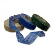 Burlap ribbon 25 mm