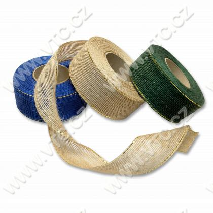 Burlap ribbon 40 mm