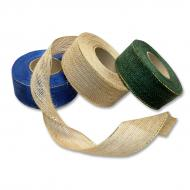 Burlap ribbon w. MTP threads 40 mm