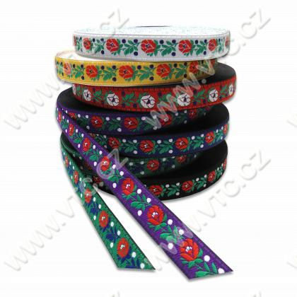 Embroidered ribbon 18 mm