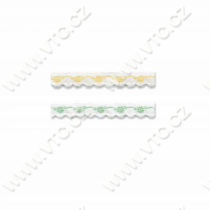 Embroidery ribbon 16 mm