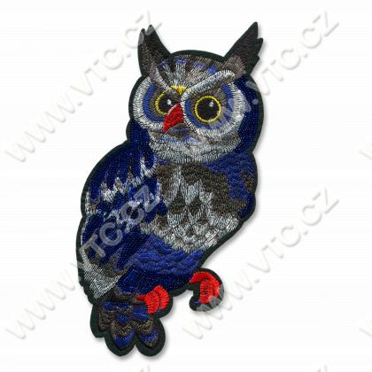 Iron-on applique OWL
