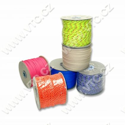 Braided cord PES 4 mm