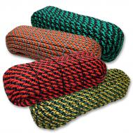 Two-colored entwined cord 10mm