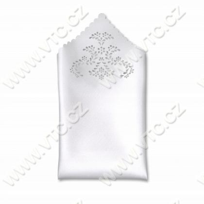 Glossy pocket square
