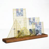 Ruler Rack, wooden