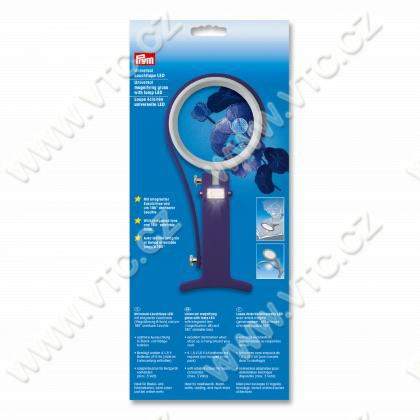 Universal magnifiying glass LED