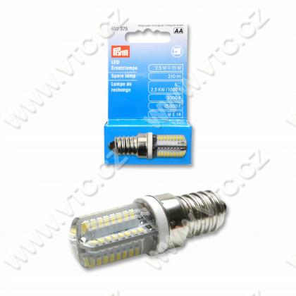 LED spare lamp for sew.mach. - screw fitting
