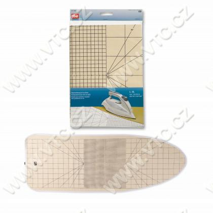 Ironing board cover S-M with cm scale
