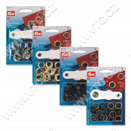 Eyelets 11 mm with washers