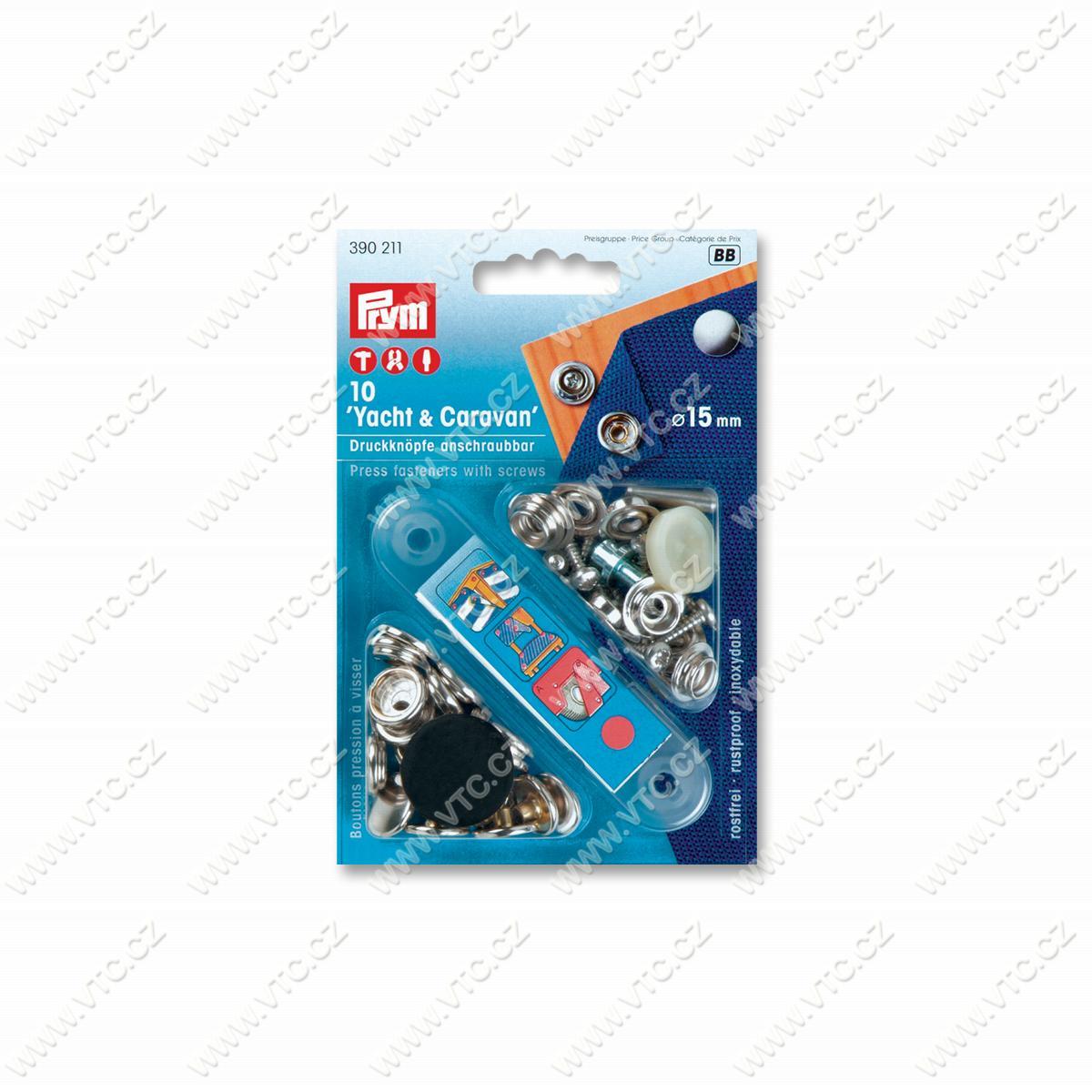 Press fasteners YACHT&CARAVAN 15 mm | VTC JSC
