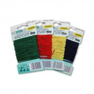 Round elastic 1,2 mm - card 10 m