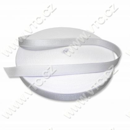 Elastic strap 16 mm white