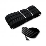 Flat elastic 25 mm anti-slip