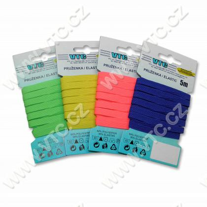 Elastic on card 5 m color
