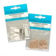 Suspender clips 4 pcs - card