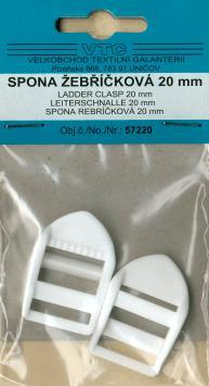 Ladder clasp 20mm 2pcs-card