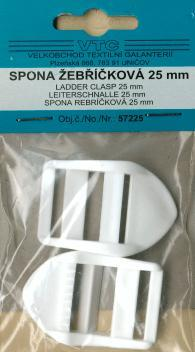 Ladder clasp 25mm 2pcs-card