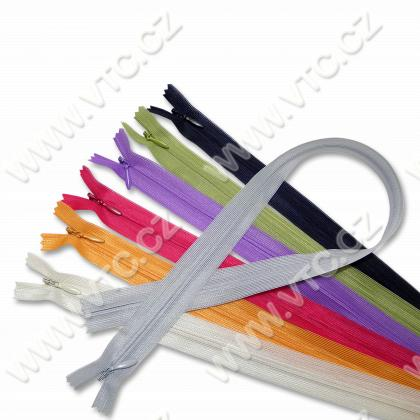 Spiral zippers WS0 45cm CE inv