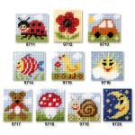 Cross stitch kit 11x13 cm