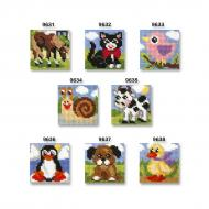 Cross stitch kit 10,5x10,5 cm