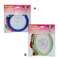 Kid's embroidery set - frame Small