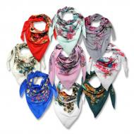 Printed scarf MIX, 2nd quality*