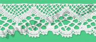 Cotton bobbin lace - 45 mm