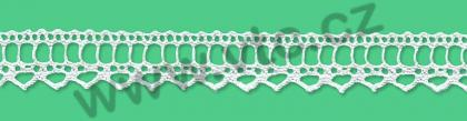 Cotton bobbin lace - 18 mm