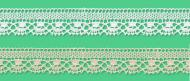 Cotton bobbin lace - 19 mm