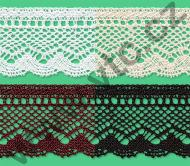 Cotton bobbin lace - 53 mm