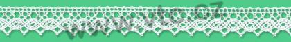 Cotton bobbin lace - 13 mm