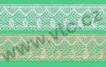 Cotton bobbin lace - 33 mm