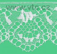 Cotton bobbin lace - 150 mm