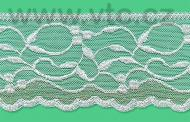 Polyamid lace - 73 mm