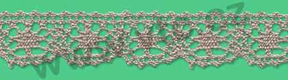 Cotton bobbin lace - 23 mm