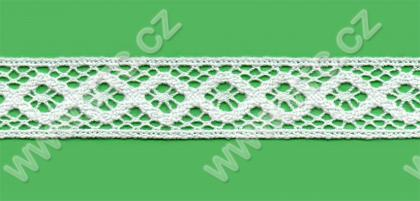 Acrylic bobbin lace - 30 mm