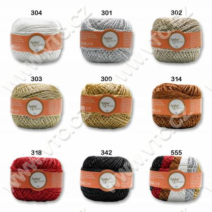 Yarn ANCHOR ARTISTE METALLIC