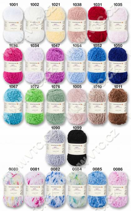 Yarn LENJA SOFT 10x25 g
