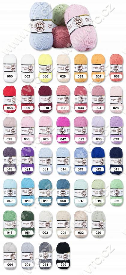Yarn MADAME COTTON 5x100 g