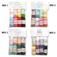 Yarn MINI BALLS kit