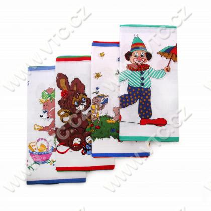 Childrens handkerchief, 6 pcs