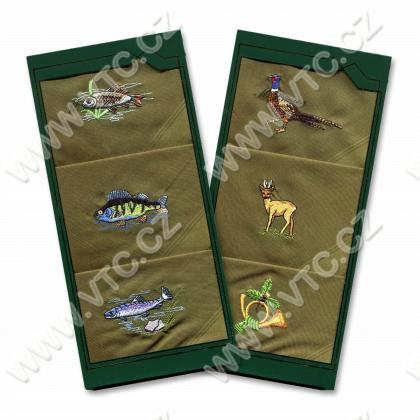 Mens handkerchief - box 3 pcs