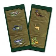 Men's handkerchief hunter, fisherman - 3pcs/box