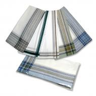 Men's handkerchief color - 6pcs/pack
