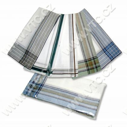 Mens handkerchief, bag 6 pcs